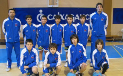 2007-2008 Club Estudiantes Lugo Mini Masculino