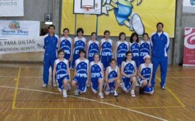 2008-2009 Club Estudiantes Lugo Mini Femenino