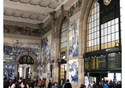 Visitar Oporto - Estação de São Bento