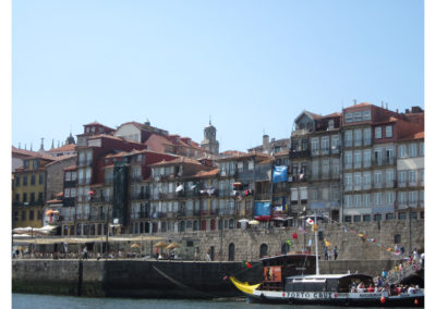 Visitar Oporto - Cais da Ribeira